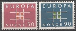 EUROPA - CEPT 1963 - Norvège - 2 Val Neufs // Mnh - 1963