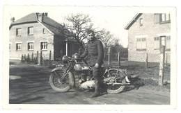 Photo Homme Sur Sa Moto , Soldat - Photos