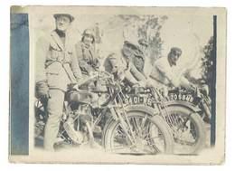 Photo Hommes Sur Motos à Identifier - Other