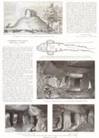 """UN MONUMENT MEGALITHIQUE DECOUVERT à """" JERSEY """"  1925 - Normandie"""
