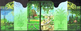 France Oblitération Cachet à Date BF N°  62 (3606 Et 3607) Les Jardins Du Luxembourg Et Buttes De Chaumont - Sheetlets