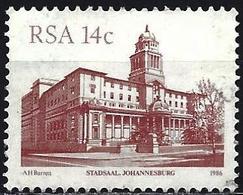 South Africa 1986 - Mi 686 - YT 603  ( Johanesburg City Hall ) - Afrique Du Sud (1961-...)