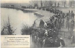 CATASTROPHE DE MONTREUIL BELLAY: TRAIN D'ANGERS A POITIERS - Montreuil Bellay