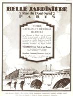 "PUB  "" BELLE JARDINIERE   ""   1924 ( 3 ) - Other"