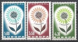 EUROPA - CEPT 1964 - Portugal - 3 Val Neufs // Mnh // CV €17.00 - Europa-CEPT