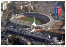 Stadium Sébastien Charléty (Stade Français,France) Postcard - Size: 15x10 Cm. Aprox - Fútbol