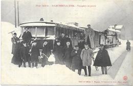 ST LAURENT DU JURA: VOYAGEURS  EN PANNE - France