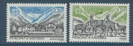 "Andorre YT 348 & 349 "" Europa ""1986 Neuf** - French Andorra"