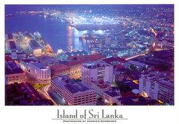 Sri Lanka Postcards, Colombo By Night, Postcrossing - Sri Lanka (Ceylon)