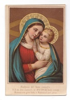 Madonna Del Buon Consiglio, Notre-Dame De Bon Conseil, Nuestra Senora Del Buen Consejo, Vierge à L'Enfant - Devotion Images