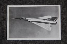 Image Avion Militaire Supersonique. (Format Carte Postale) - Aviación