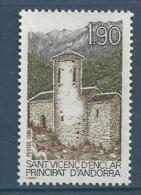 "Andorre YT 354 "" Touristique ""1986 Neuf** - French Andorra"