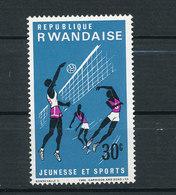 Y&T N°163- Jeunesse Et Sports - Rwanda