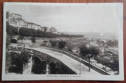 LOMBARDIA - BERGAMO - BASTIONI S.GIACOMO Formato Piccolo - Viaggiata 1931 - Condizioni Buone Euro 6,3 - Bergamo