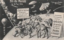 Rare Cpa Souvenir Du Jour De La  Fin Du Monde Du 19 Mai 1910 - Evénements