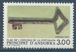 "Andorre YT 365 "" Clef ""1987 Neuf** - French Andorra"