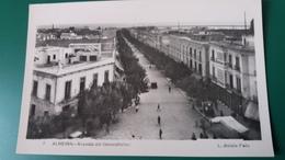 CPSM ALMERIA AVENIDA DEL GENERALISIMO ED L ROISIN FOTO - Almería