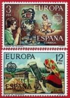 España. Spain. 1976. EUROPA Cept. Artesania Española. Spanish Crafts. Talavera. Camariñas - 1931-Hoy: 2ª República - ... Juan Carlos I
