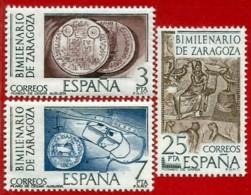 España. Spain. 1976. Bimilenario De Zaragoza. Monedas Romanas - 1931-Hoy: 2ª República - ... Juan Carlos I
