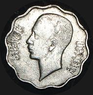 Iraq Kingdom 10 Fils 1937 King Ghazi Very Scarce Date (EF) - Iraq