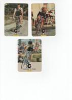 77 Velo Cyclisme Bike Portugal 1985 Set 3 Pieces - Calendarios