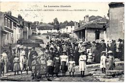 54 - BOUXIERES SOUS FROIDMONT - Pélérinage (série La Lorraine Illustrée) - France