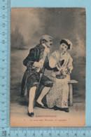 CPA - Humour, Marivaudage, Ce Serait Mal Monsieur Et Cependant... - A Servie En 1906 - Post Card Carte Postale - Humour