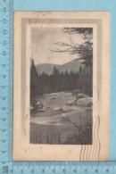 CPA -Paysage  - A Servie En 1912 - Post Card Carte Postale - Arts