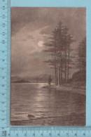 CPA -Paysage Signé H.A. Duesse  - A Servie En 1912 - Post Card Carte Postale - Peintures & Tableaux