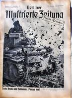 Berliner Illustrierte Zeitung 1941 Nr.39 Panzer Vor! Stahlriesen Auf Sowjetstraßen - Zeitungen & Zeitschriften