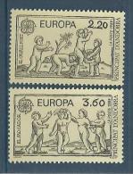 "Andorre YT 378 & 379 "" Europa "" 1989 Neuf** - French Andorra"