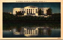 New York Buffalo Historical Building By Illumination - Buffalo