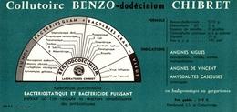 Buvard Collutoire Benzo Chibret - Produits Pharmaceutiques