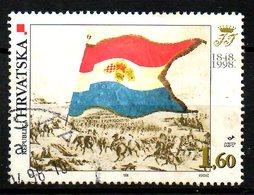 CROATIE. N°425 De 1998 Oblitéré. Drapeau. - Stamps
