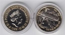Great Britain UK £2 Coin WW1 Battle In The Air - Brilliant Uncirculated BU - 1971-…: Dezimalwährungen