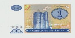 AZERBAIJAN»1 MANAT»1993 ND ISSUE»PICK- 14»UNC - Azerbaïdjan
