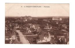 62 PAS DE CALAIS - LE TOUQUET PARIS PLAGE Panorama - Le Touquet