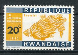 Y&T N° 25 - 1° Année De L'indépendance - Rwanda