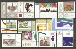 Allemagne Fédérale 1998 - Petit Lot De 12 MNH - CDF - Noël - Football - Bertold Brecht - Droits De L'Homme - Vrac (max 999 Timbres)