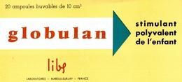 Buvard Globulan - Produits Pharmaceutiques