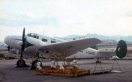 DIAPOSITIVA / SLIDE AEREO BEECHCRAFT C-45 ALISARDA Marche I-SARE - Diapositive