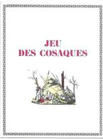 Jeu Des Cosaques (Jeu De L'oie)  (publicité Médicale  Lab. Clin-Comar ) - Group Games, Parlour Games