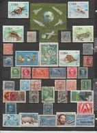 43 TIMBRES CUBA OBLITERES & NEUFS* + SANS GOMME DE 1890 à 1969 - Usados