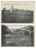 GIREY Les MAREILLES 2 CPA 1916 Prè Bologne Forges Froncles Joinville Chaumont Bourbonne Bains Langres Saint Dizier Wassy - Autres Communes