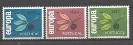 EUROPA - CEPT 1965 - Portugal - 3 Val Neufs // Mnh // Cv €30.00 - Europa-CEPT