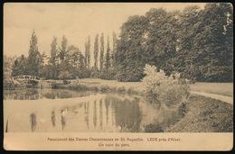 LEDE = PENSIONNAT DES DAMES CHANOINESSES DE ST.AUGUSTIN - UN COIN DU PARC - Lede