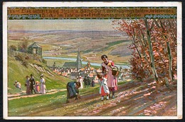 B0616 - Paul Hey Künstlerkarte - Frühling Nr. 2 -  Hans Friedrich Abshagen Dresden - Hey, Paul