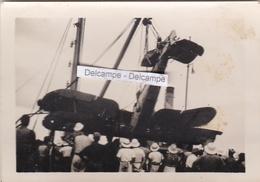 Guerre 39/45 Afrique DAKAR 1940 - Photo Originale D'un Avion Anglais Abattu ( Sénégal ) - Guerre, Militaire