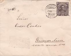 ENTIER CHILE CIRCULEE VALDIVIA  A BUENOS AIRES YEAR 1922 - BLEUP - Chile