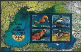Roumanie Roemenie  Romania 2007 Yvertn° Bloc 327 *** MNH Cote 12,00 Euro Faune Marine - Blocs-feuillets